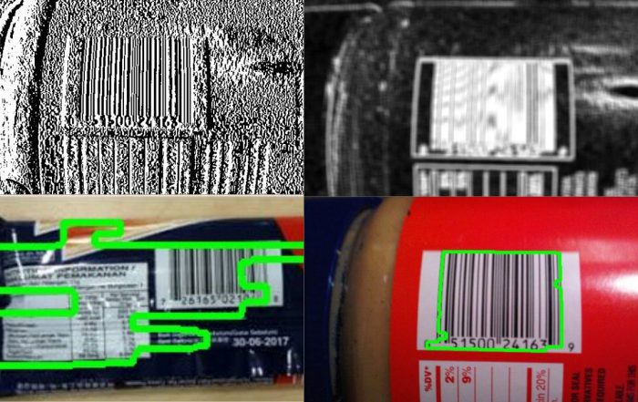 Barcode Detection Using OpenCV