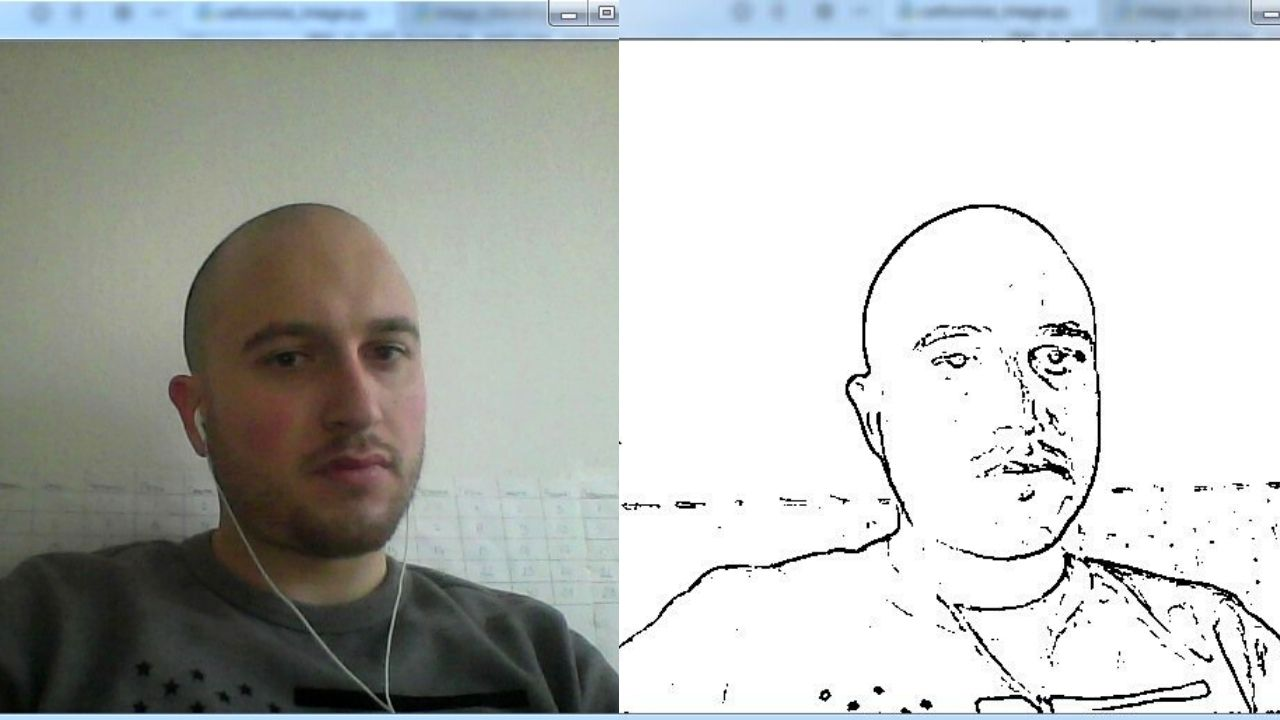 Cartoonize Video Footage Using Computer Vision