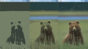 Comparison Of The Results K-Means Clustering On Image