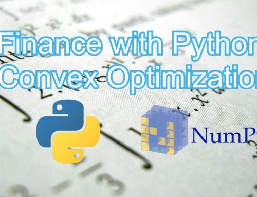 Finance with Python: Convex Optimization