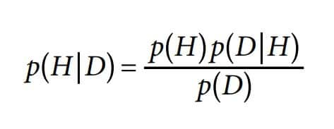 Equation 1 – Bayesian Formula